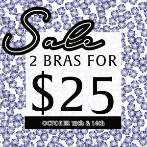 BRA SALE! READ FULL LISTING FOR DETAILS!  XXXO💋